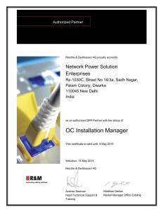 Authorized_Partner_Network Power Solution Enterprises_Shukla