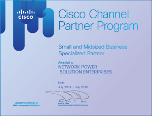 Cisco Certificate